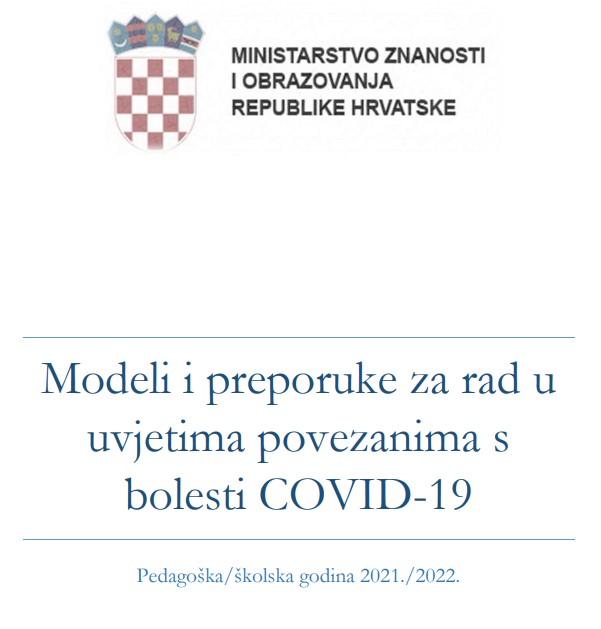 Modeli i preporuke za rad u uvjetima povezanima s bolesti COVID-19